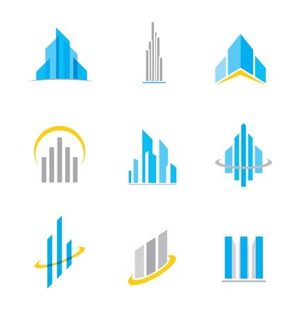 Illustration pour Building  icon - image libre de droit