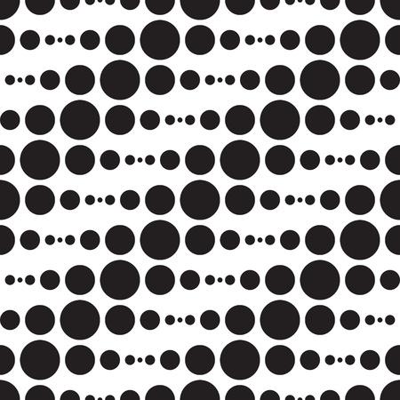 Ilustración de Vector Abstract Monochrome Geometric Pattern - Imagen libre de derechos