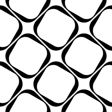 Illustration pour Vector Abstract Seamless Squares Pattern - image libre de droit