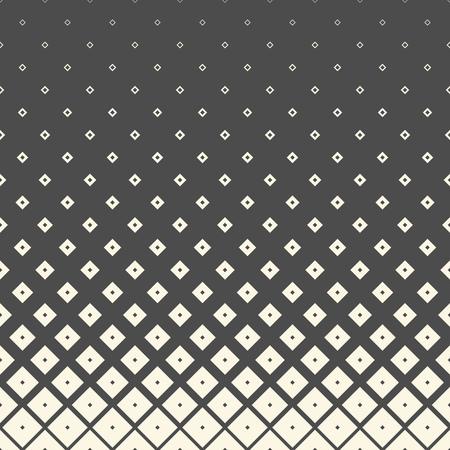 Illustration pour Seamless Gradient Pattern. Vector Black and White Minimalistic Background. Monochrome Wrapping Paper Wallpaper - image libre de droit