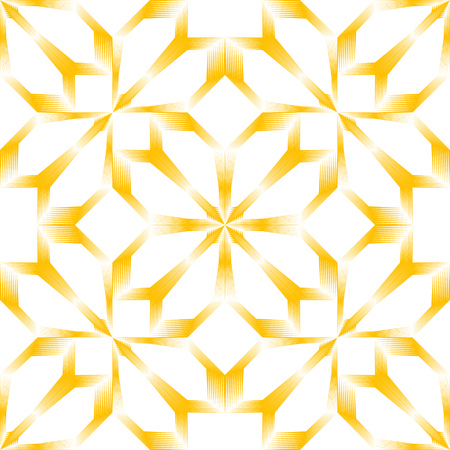 Illustration pour Seamless Oriental Ornament. Abstract Monochrome Background. Vector Flower Pattern. Abstract Wrapping Paper Design - image libre de droit
