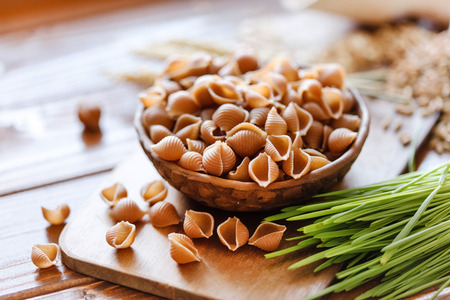Photo for whole wheat pasta - Royalty Free Image