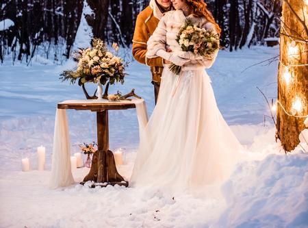 Foto de winter wedding - Imagen libre de derechos