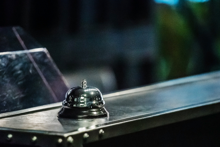 Photo pour A service bell in a hotel - image libre de droit