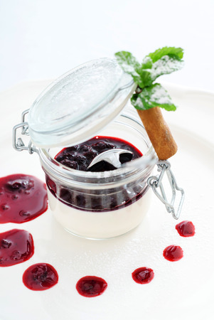 Photo for berry dessert - Royalty Free Image