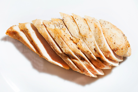 Photo for sliced chicken breast - Royalty Free Image