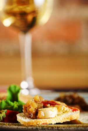Photo for foie gras with sauce - Royalty Free Image