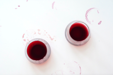Photo for Glasses with red wine - Royalty Free Image