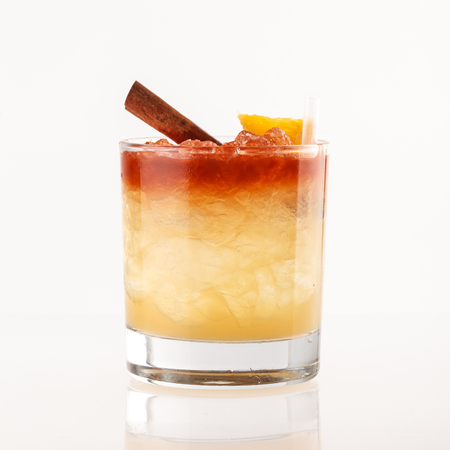 Photo for cocktail on the white background - Royalty Free Image