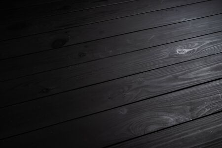 Photo for Black wooden texture - Royalty Free Image