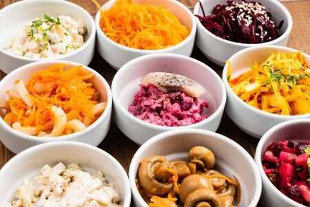 Photo for different kinds of salad - Royalty Free Image