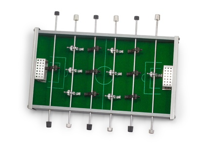 table football game is isola mural
