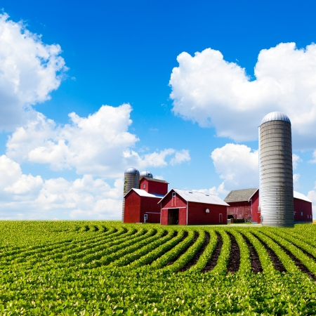 Photo for American Farm - Royalty Free Image