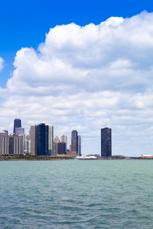 Chicago Skyline Panorama Wit