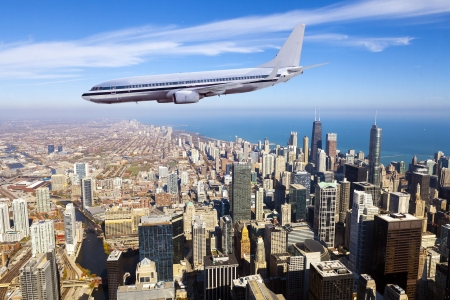 Business Travel With Chicago mural