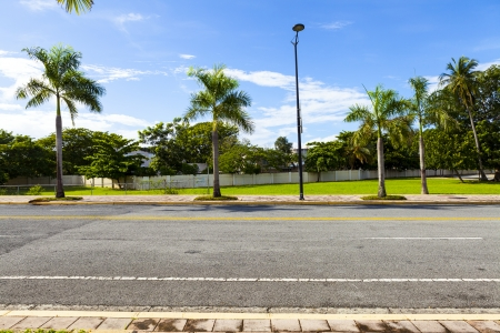 Photo for Side View On Asphalt Street - Royalty Free Image