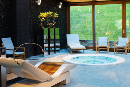 Photo for Spa center with hot tub - Royalty Free Image