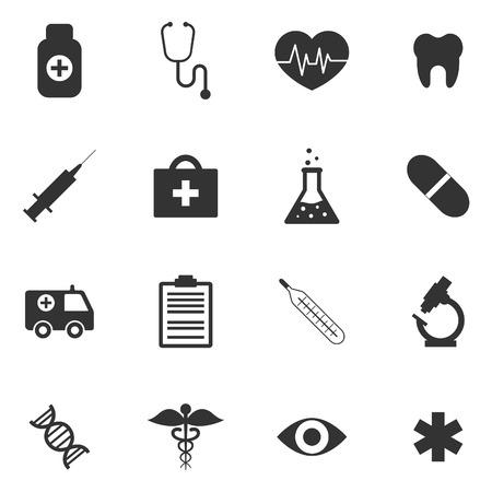 Photo pour Medical icons - image libre de droit
