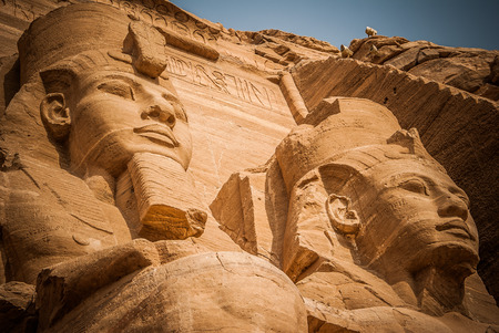 Photo for Ancient Egypt, Abu Simbel site - Royalty Free Image
