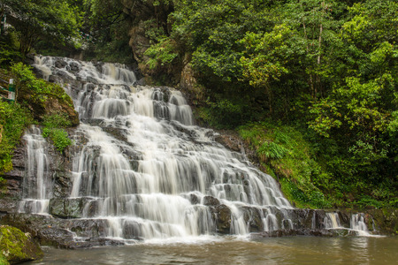 Photo for Elephant waterfall in Upper Shillong, Meghalaya, India - Royalty Free Image