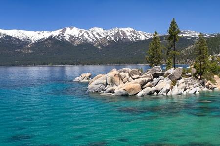 Photo pour Sand Harbor, Lake Tahoe - image libre de droit