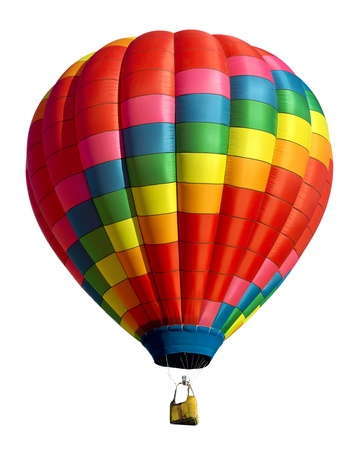 Photo for hot air balloon isolated - Royalty Free Image
