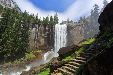 Photo for Vernal Fall, Yosemite National Park - Royalty Free Image