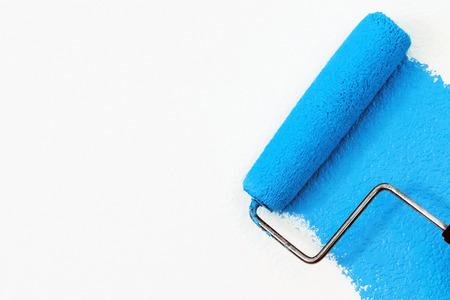 Foto de blue paint - Imagen libre de derechos
