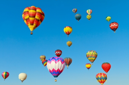 Photo for colorful hot air balloons - Royalty Free Image