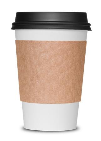 Photo pour Coffee cup isolated - image libre de droit