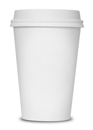 Photo for Coffee cup isolated - Royalty Free Image