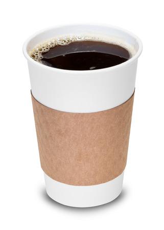 Foto für Cup of coffee with clipping path - Lizenzfreies Bild