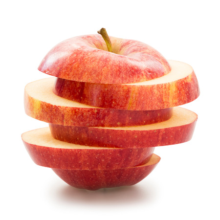 Photo for Sliced apple - Royalty Free Image