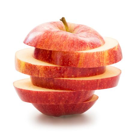 Photo pour Sliced apple - image libre de droit