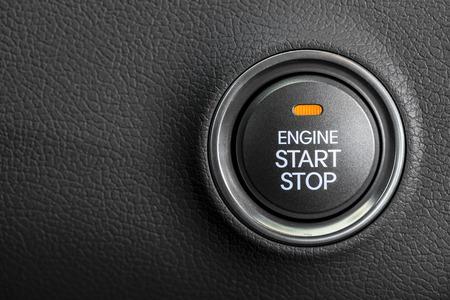 Photo pour Engine start button - image libre de droit