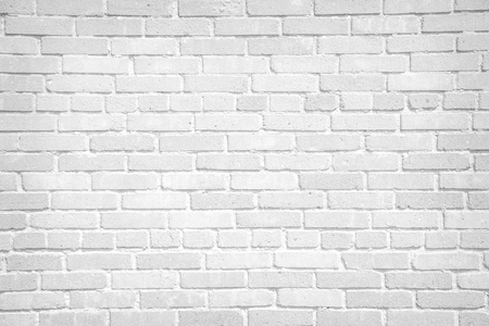 Foto de White brick wall background - Imagen libre de derechos