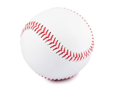 Baseball ball isolated over white background