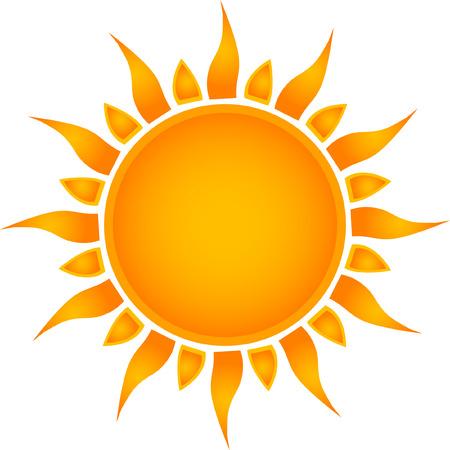 Illustration pour Sun symbol - image libre de droit