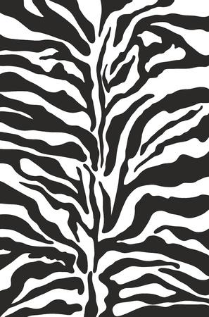 Illustration for Zebra print background pattern - Royalty Free Image