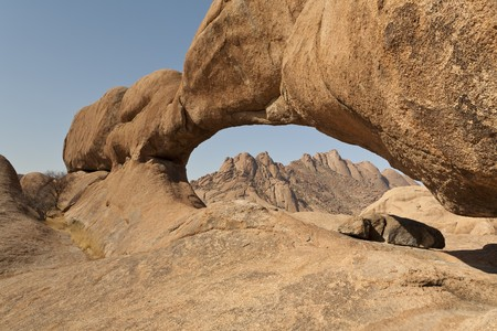 Natural arch near Spitzkoppe, Republic of Namibia, Southern Africa