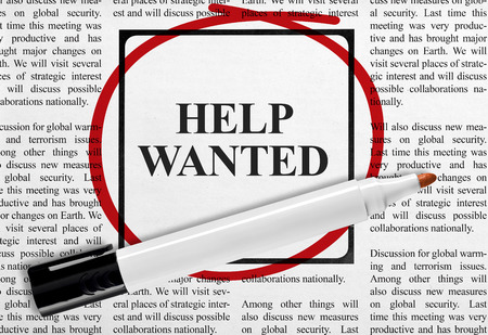 Photo for Help wanted - Royalty Free Image