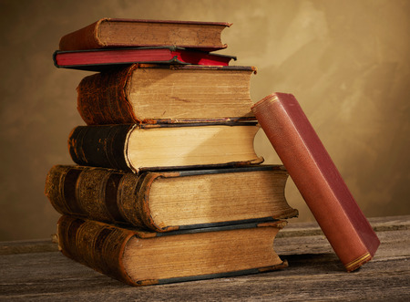 Foto de Old books - Imagen libre de derechos