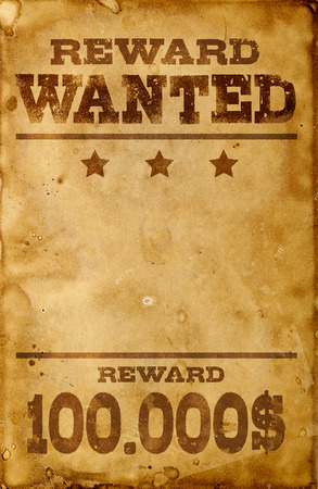 Photo for Wanted poster - Royalty Free Image