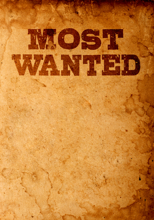 Photo for Most wanted poster - Royalty Free Image