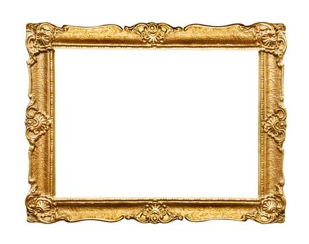 Foto de Carved picture frame - Imagen libre de derechos
