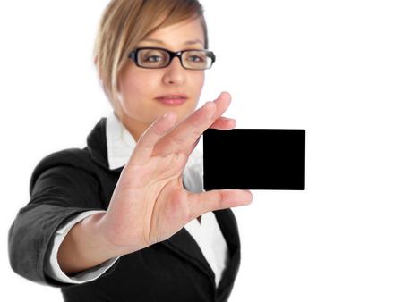 Foto de This is my business card - Imagen libre de derechos
