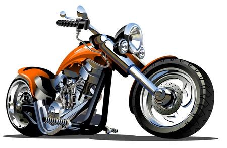 Cartoon Motorbike