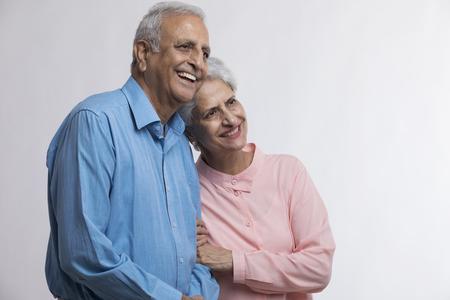 Photo for Portrait of senior couple smiling - Royalty Free Image