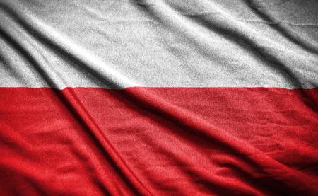 Foto de polish flag - Imagen libre de derechos