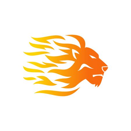 Foto de Lion Logo Template - Imagen libre de derechos